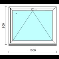 Bukó ablak.  100x 80 cm (Rendelhető méretek: szélesség 95-104 cm, magasság 75- 84 cm.)  New Balance 85 profilból