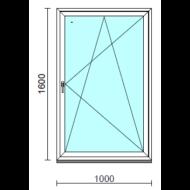 Bukó-nyíló ablak.  100x160 cm (Rendelhető méretek: szélesség 95-104 cm, magasság 155-164 cm.) Deluxe A85 profilból
