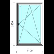 Bukó-nyíló ablak.  110x180 cm (Rendelhető méretek: szélesség 105-114 cm, magasság 175-180 cm.)  New Balance 85 profilból