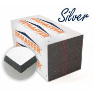 ISOMASTER EPS H-80 G Silver  homlokzati hőszigetelő rendszerek EPS anyagú grafitadalékkal és védőbevonattal ellátott hőszigetelő lapja