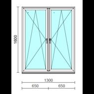 TO Bny-Bny ablak.  130x160 cm (Rendelhető méretek: szélesség 125-134 cm, magasság 155-164 cm.)  New Balance 85 profilból