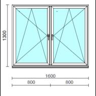 TO Bny-Bny ablak.  160x130 cm (Rendelhető méretek: szélesség 155-164 cm, magasság 125-134 cm.)  New Balance 85 profilból