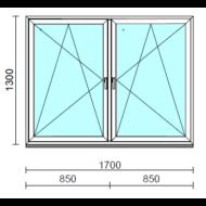 TO Bny-Bny ablak.  170x130 cm (Rendelhető méretek: szélesség 165-174 cm, magasság 125-134 cm.)  New Balance 85 profilból
