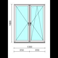 TO Ny-Bny ablak.  130x160 cm (Rendelhető méretek: szélesség 125-134 cm, magasság 155-164 cm.)  New Balance 85 profilból