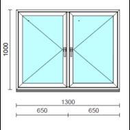 TO Ny-Ny ablak.  130x100 cm (Rendelhető méretek: szélesség 125-134 cm, magasság 95-104 cm.)  New Balance 85 profilból