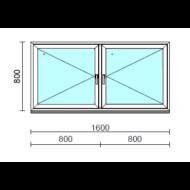 TO Ny-Ny ablak.  160x 80 cm (Rendelhető méretek: szélesség 155-164 cm, magasság 80-84 cm.)  New Balance 85 profilból
