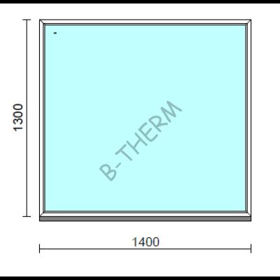 Fix ablak.  140x130 cm (Rendelhető méretek: szélesség 135-144 cm, magasság 125-134 cm.)  New Balance 85 profilból