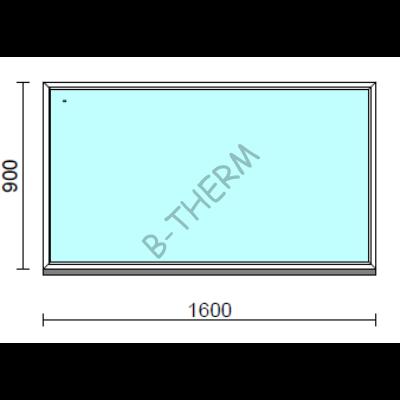 Fix ablak.  160x 90 cm (Rendelhető méretek: szélesség 155-164 cm, magasság 85-94 cm.)  New Balance 85 profilból