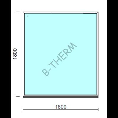 Fix ablak.  160x180 cm (Rendelhető méretek: szélesség 155-164 cm, magasság 175-184 cm.)  New Balance 85 profilból