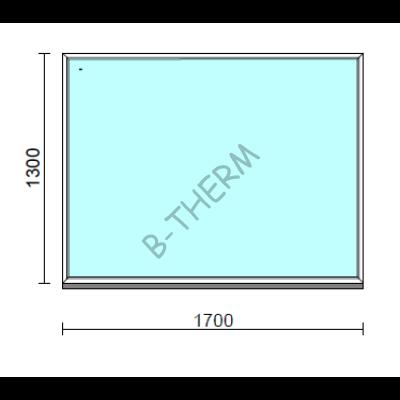 Fix ablak.  170x130 cm (Rendelhető méretek: szélesség 165-174 cm, magasság 125-134 cm.)  New Balance 85 profilból