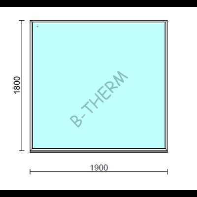 Fix ablak.  190x180 cm (Rendelhető méretek: szélesség 185-194 cm, magasság 175-184 cm.)  New Balance 85 profilból
